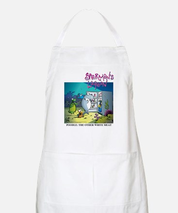 Poodle: The Other White Meat Apron