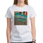Postcard Greetings Women's T-Shirt