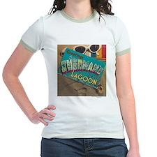 Postcard Greetings Jr. Ringer T-Shirt