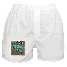Postcard Greetings Boxer Shorts