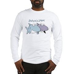 Sherman & Megan with Logo Long Sleeve T-Shirt