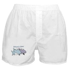 Sherman & Megan with Logo Boxer Shorts