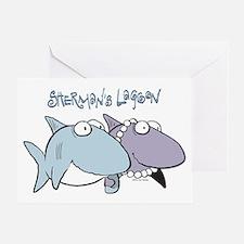 Sherman & Megan with Logo Greeting Card