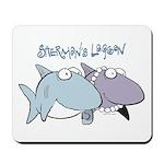Sherman & Megan with Logo Mousepad