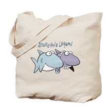 Sherman & Megan with Logo Tote Bag