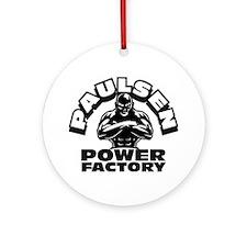 Paulsen Power House Ornament (Round)