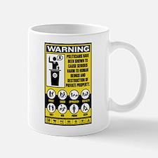 Warning: Politicians Mug