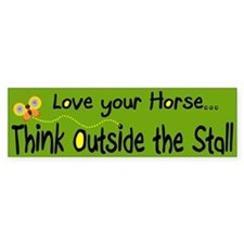 Love your Horse (bumper sticker)
