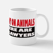 Why Experiment on Animals Mug