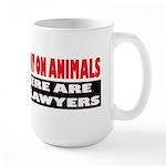 Why Experiment on Animals Large Mug