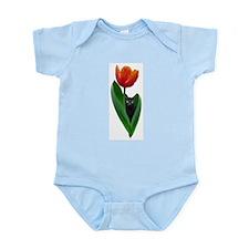 Tulip Cat Infant Bodysuit
