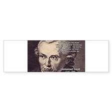 Kant Moral Law: Bumper Bumper Sticker