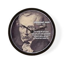 Kant Moral Law: Wall Clock