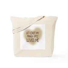 At Least My Finnish Spitz Lov Tote Bag