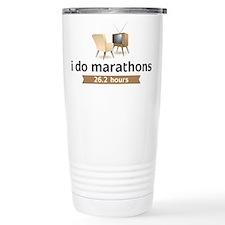 TV Marathon Travel Mug