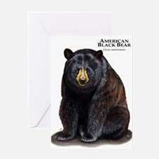 American Black Bear Greeting Card