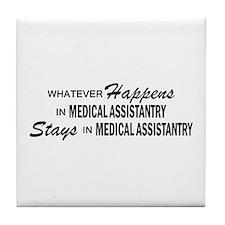 Whatever Happens - Medical Assistantry Tile Coaste