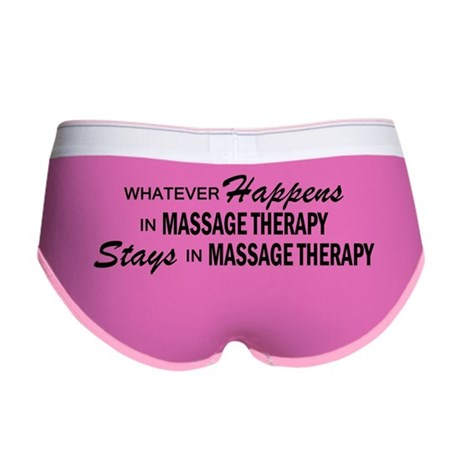 Whatever Happens - Massage Therapy Women's Boy Bri