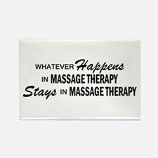 Whatever Happens - Massage Therapy Rectangle Magne