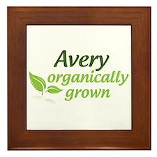 Organic Avery Framed Tile