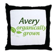 Organic Avery Throw Pillow