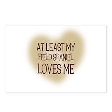At Least My Field Spaniel Lov Postcards (Package o