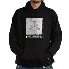 Flux Capacitor - White - Hoodie