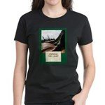 Carving The Light Women's Dark T-Shirt