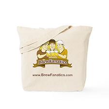 BrewFanatics Logo Tote Bag