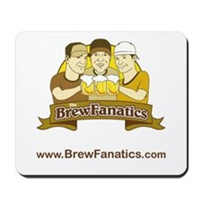 BrewFanatics Logo Mousepad