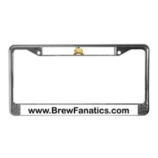 BrewFanatics Logo License Plate Frame