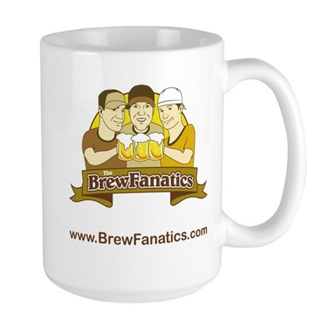 BrewFanatics Logo Large Mug