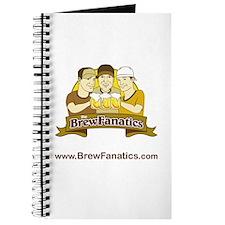 BrewFanatics Logo Journal