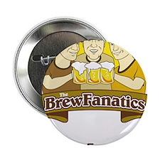 """BrewFanatics Logo 2.25"""" Button (10 pack)"""