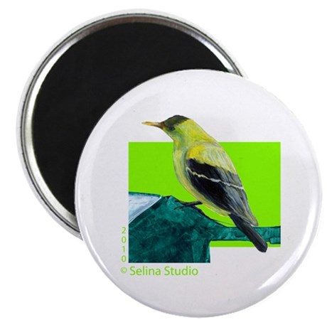 """Yellow Bird"" Magnet"