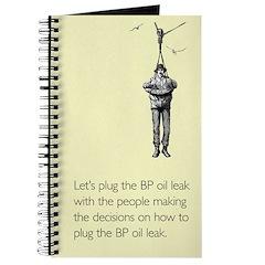 BP Oil Leak Plug Journal