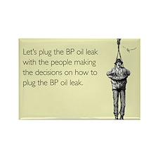 BP Oil Leak Plug Rectangle Magnet