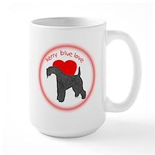 Kerry Blue Love Mug