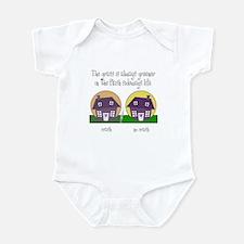 Cute Alternate reality Infant Bodysuit