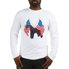 Kerry Blue with flag Long Sleeve T-Shirt