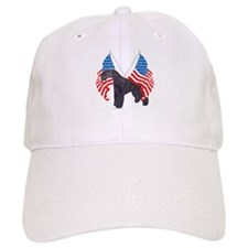 Kerry Blue with flag Cap