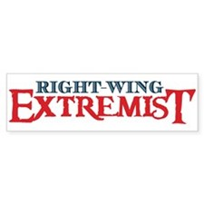 The Right-Wing Extremist Bumper Sticker