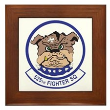 525th TACTICAL FIGHTER SQUADRON Framed Tile