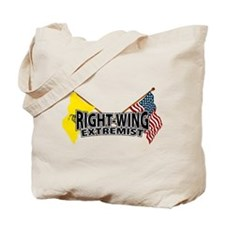 Right Wing Extremist Flags Tote Bag