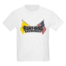 Right Wing Extremist Flags T-Shirt