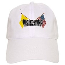 Right Wing Extremist Flags Baseball Cap
