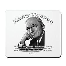 Harry Truman 03 Mousepad