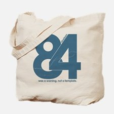 1984 Big Brother Orwell Tote Bag