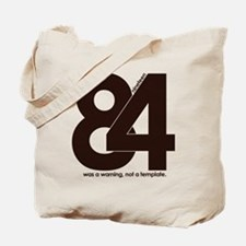 1984 Orwell Big Brother Tote Bag