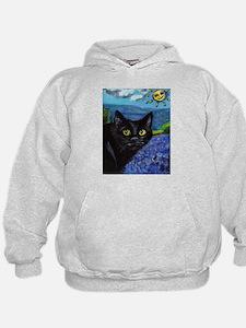 Black Cat Longstreet amongst Hoodie